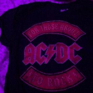 AC/DC graphic tee